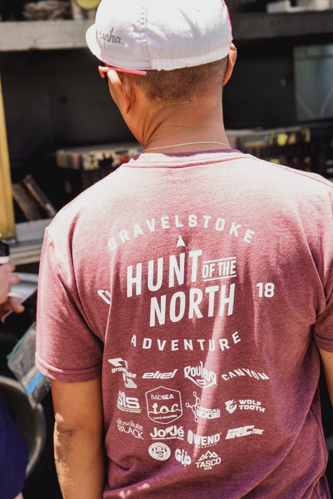 Our event t-shirt, oh so comfortable. PC: J. Babb