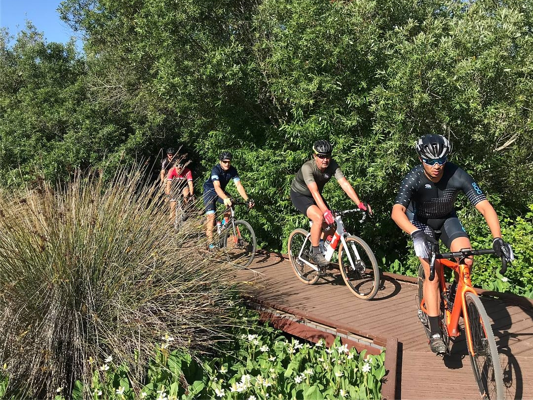 Riders cautiously rolled through the slick decking of Calavera Hills and on to the TUNNEL