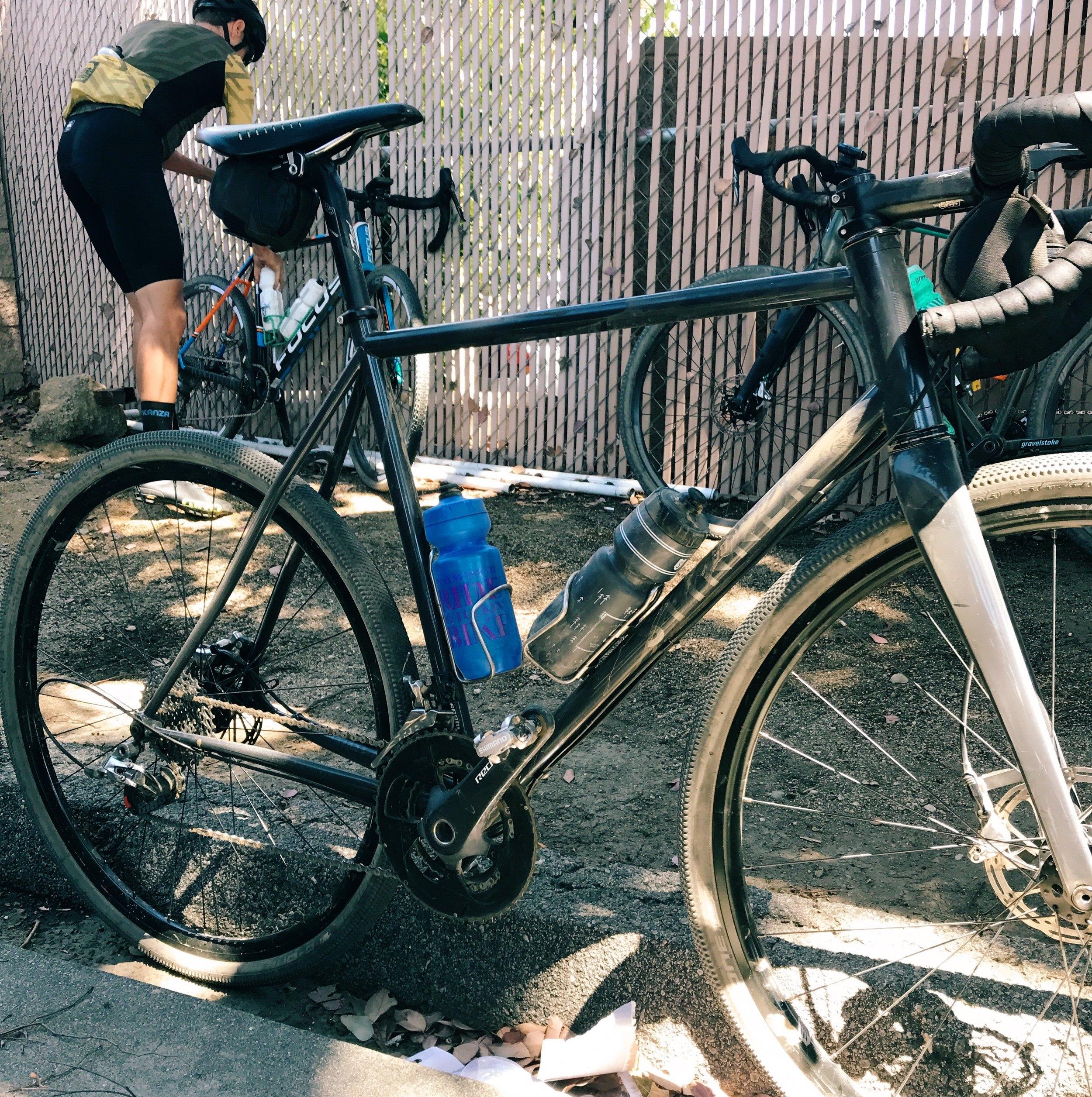 CJ's very nice Stinner Gravel bike