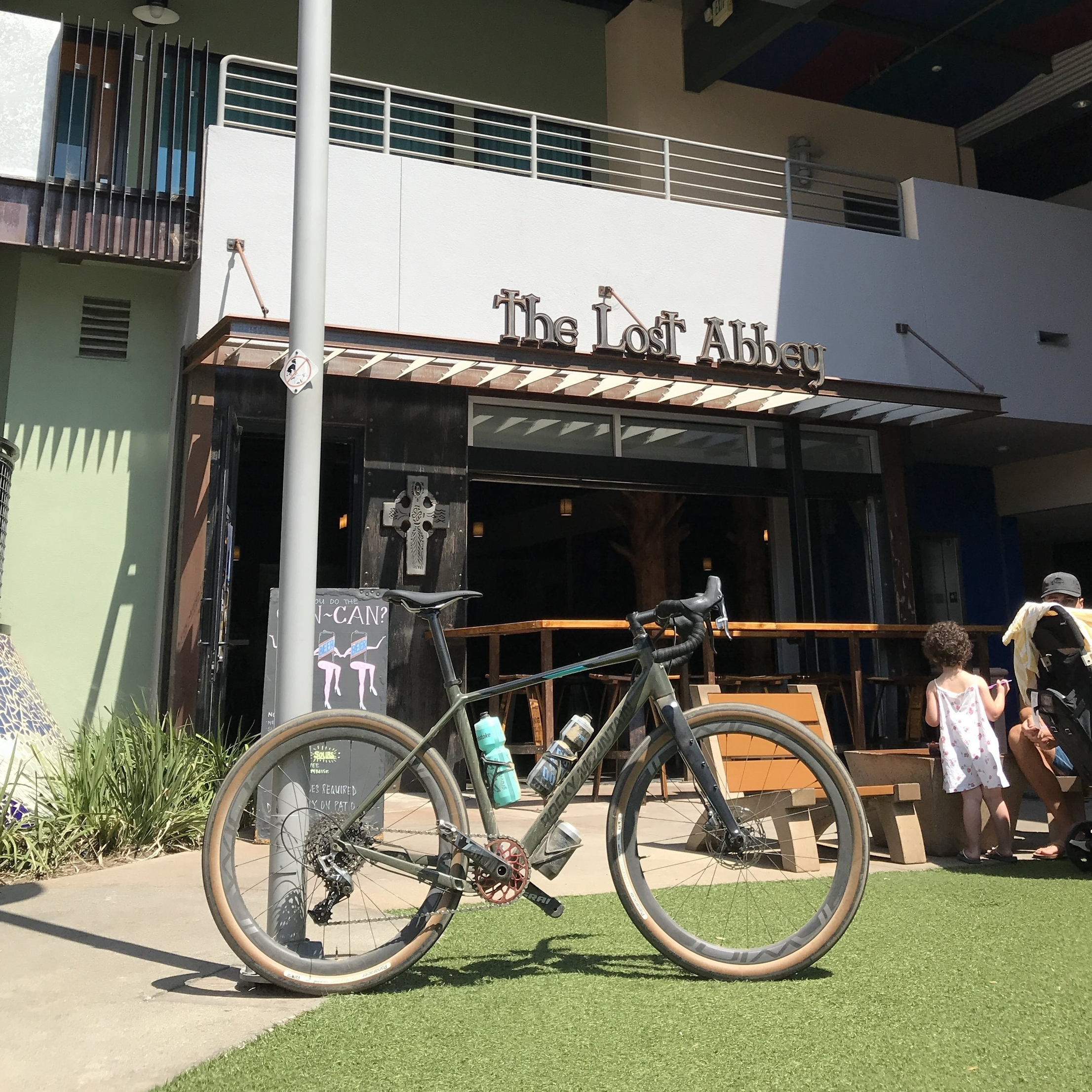 2018 Rocky Mountain Gravel Bike at Lost Abbey Brewing Co
