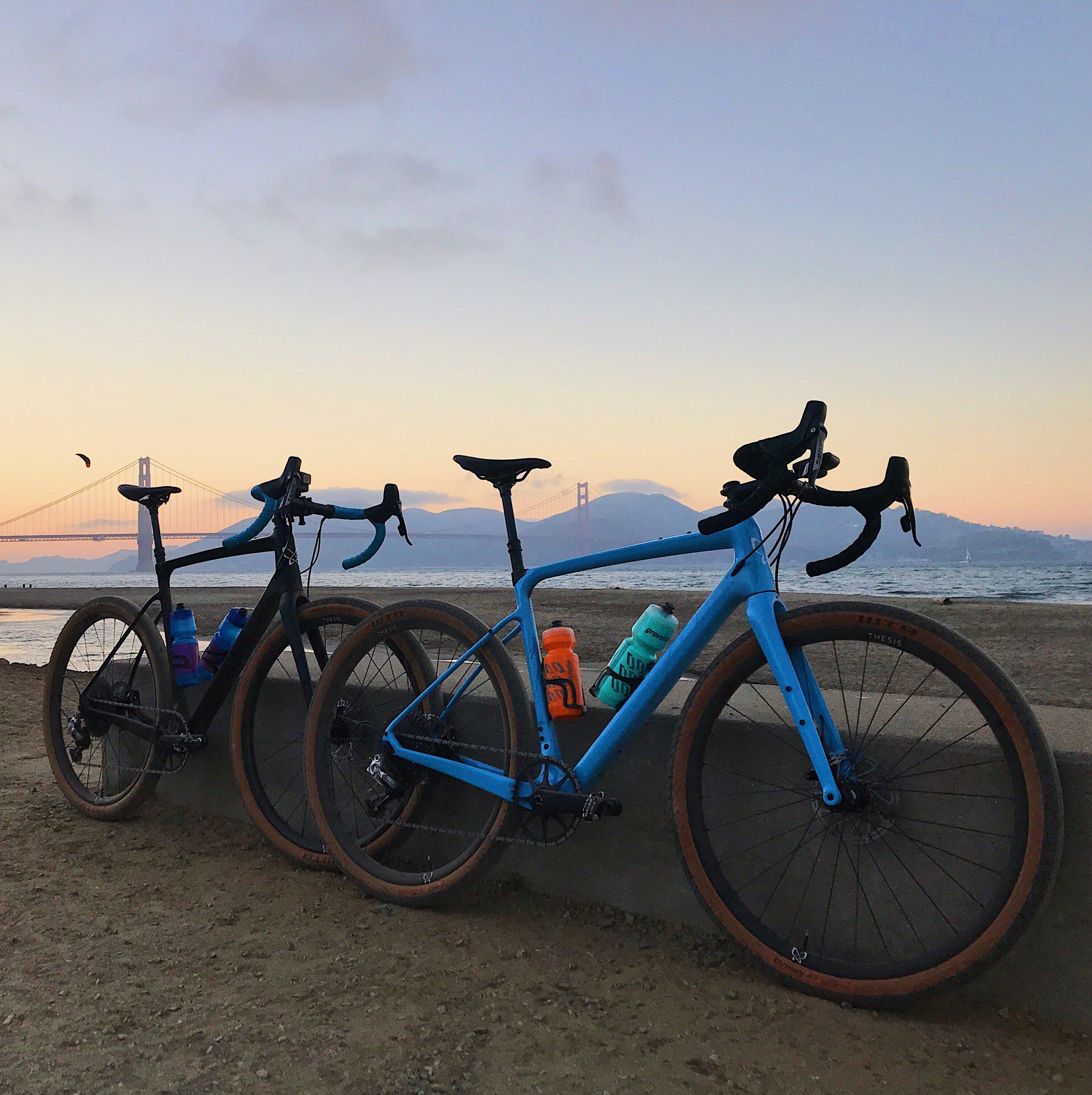 Thesis Gravel Bikes with Gravelstoke