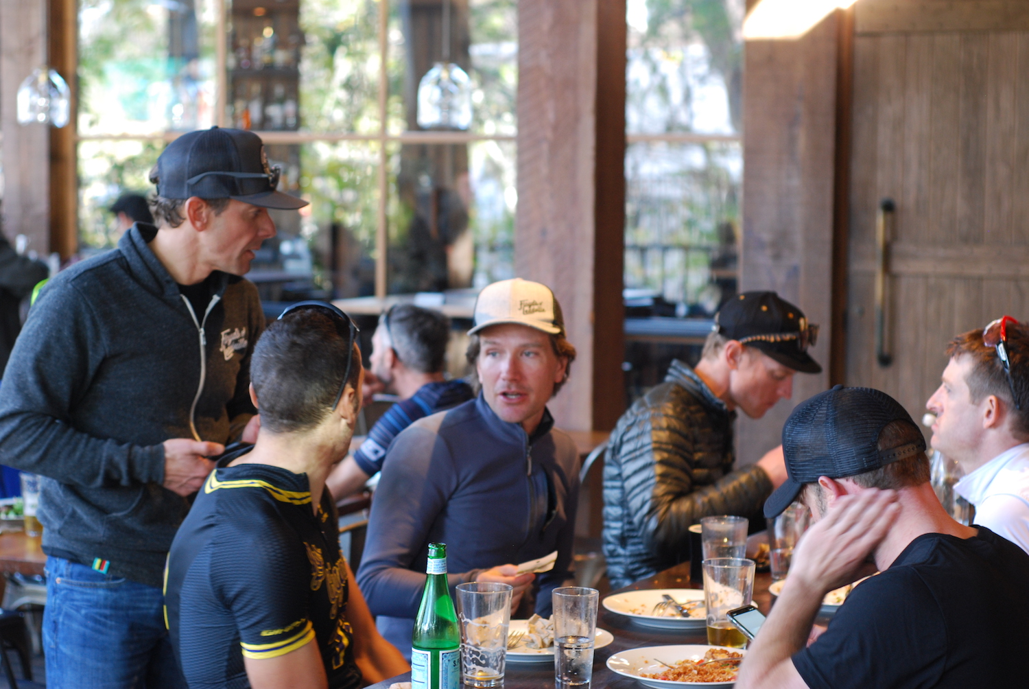 Dave Zabriskie and Ryan Steers at Pedalers Fork