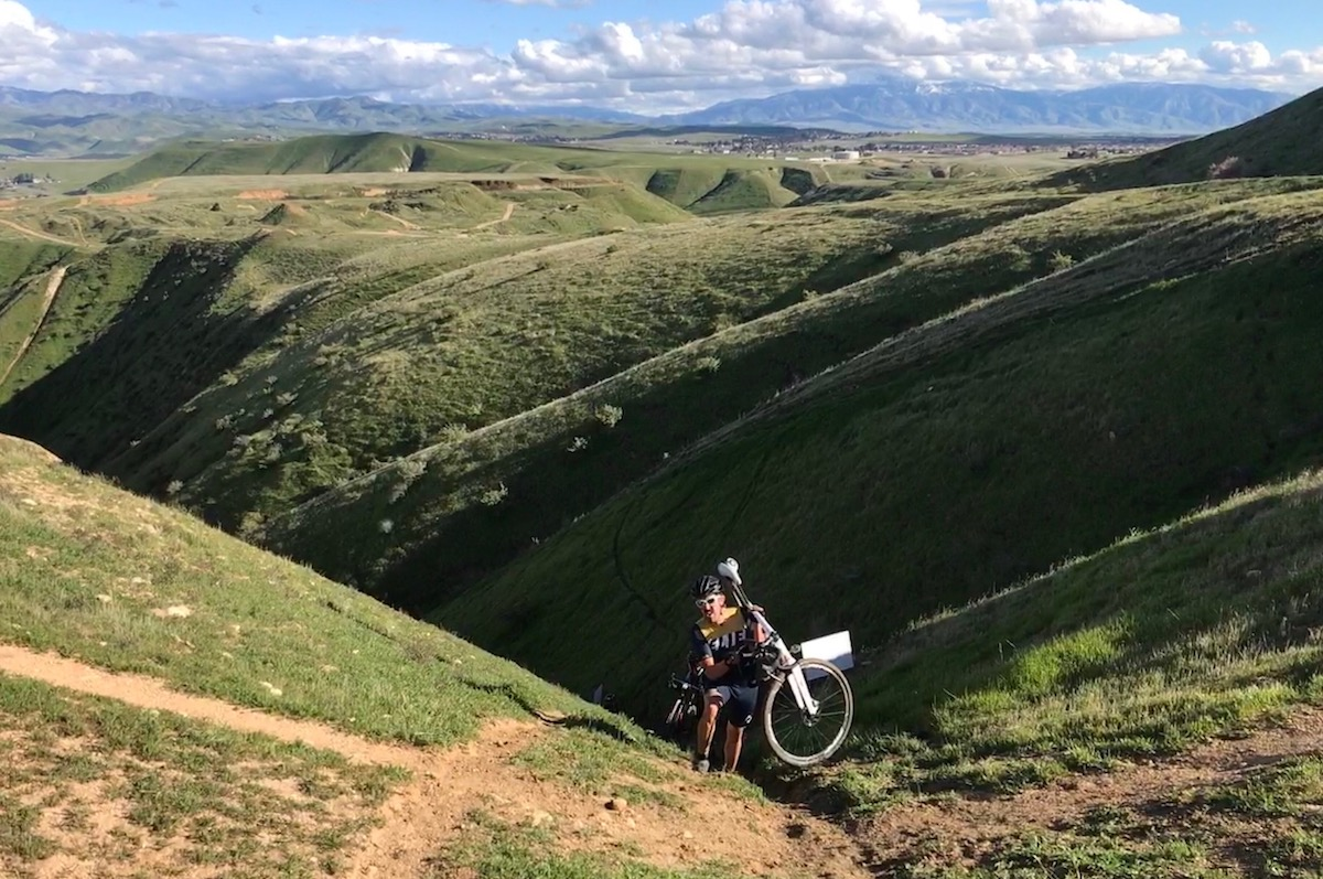 Rawley Macias emerges from mother of all hike-a-bikes