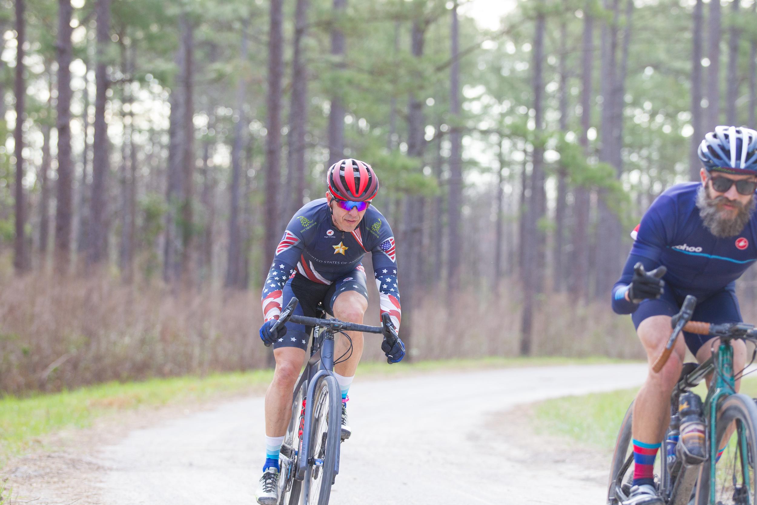 Clint Williams on his Lauf True Grit. PC: Jack Looney