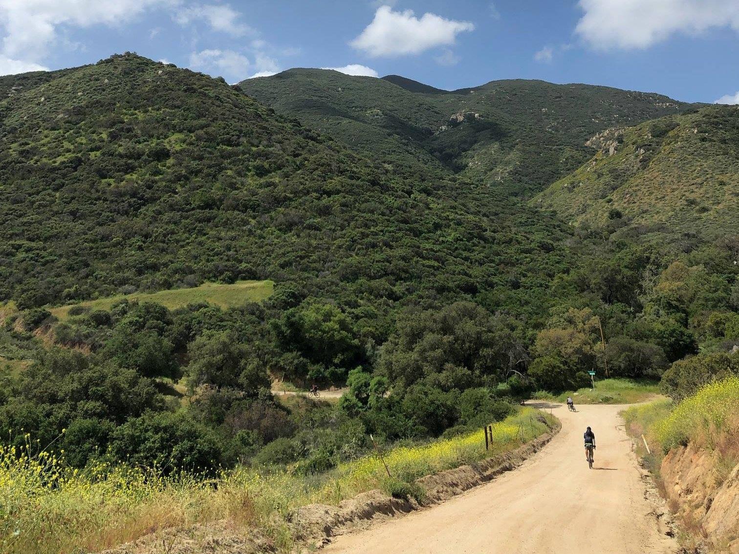 Climbing Sloan Canyon