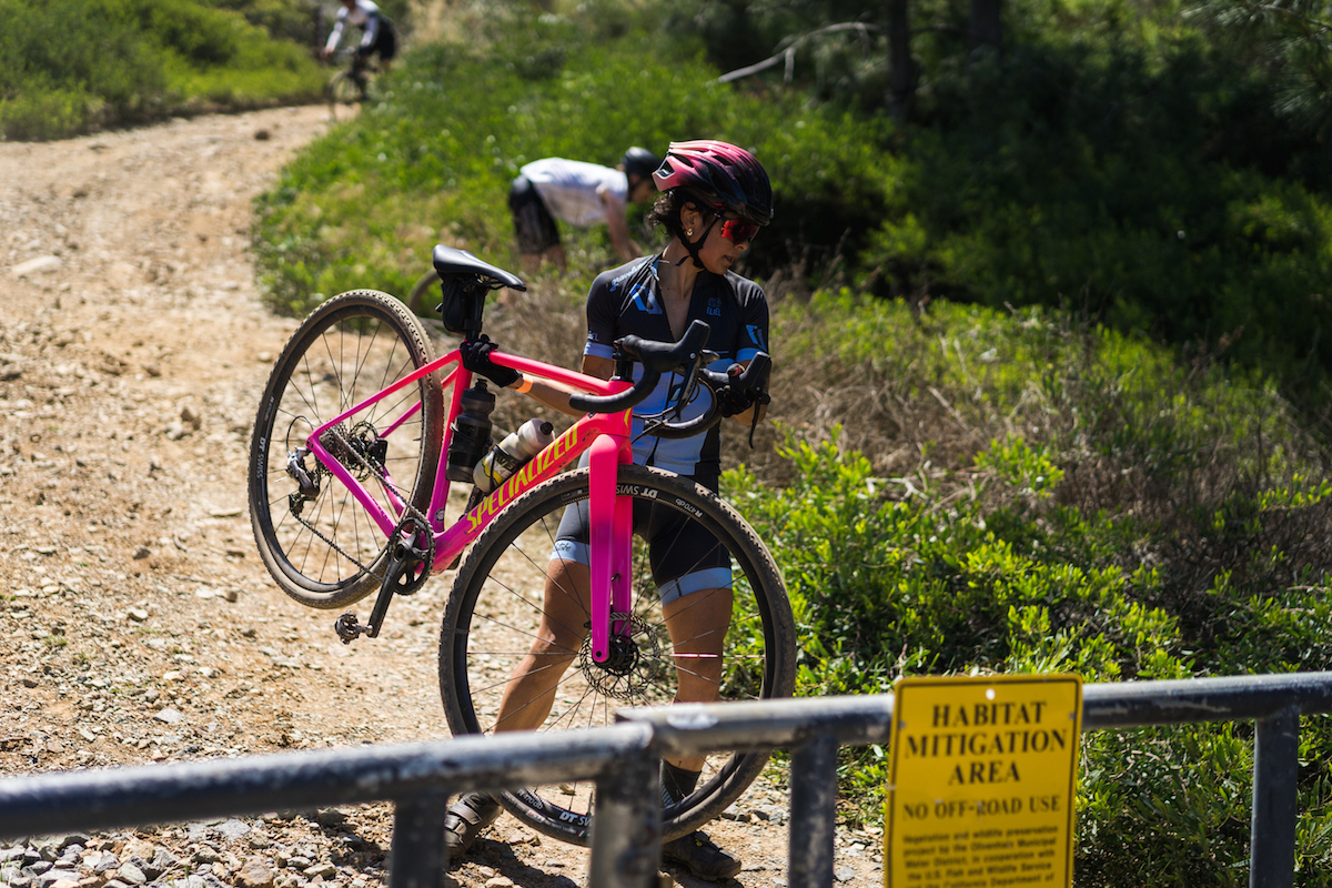 CX skills would come in handy given the terrain in Rancho La Costa Preserve