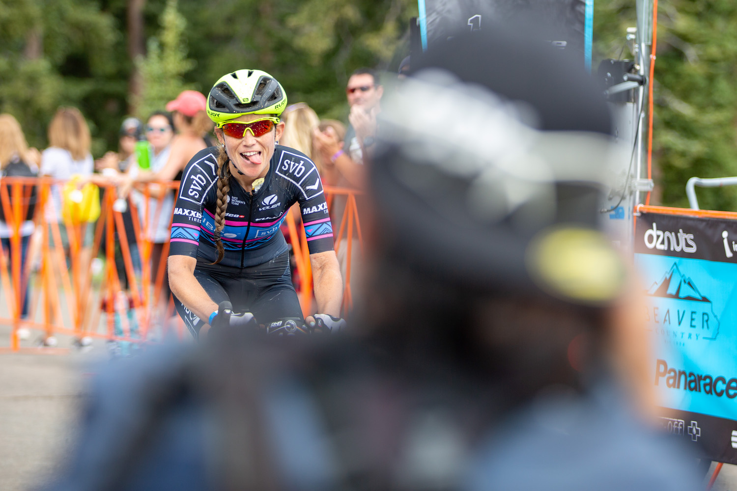 Coming fresh off the  Hunt of the North , Lauren Stephens placed 2nd in the women's race. PC: Angie Harker