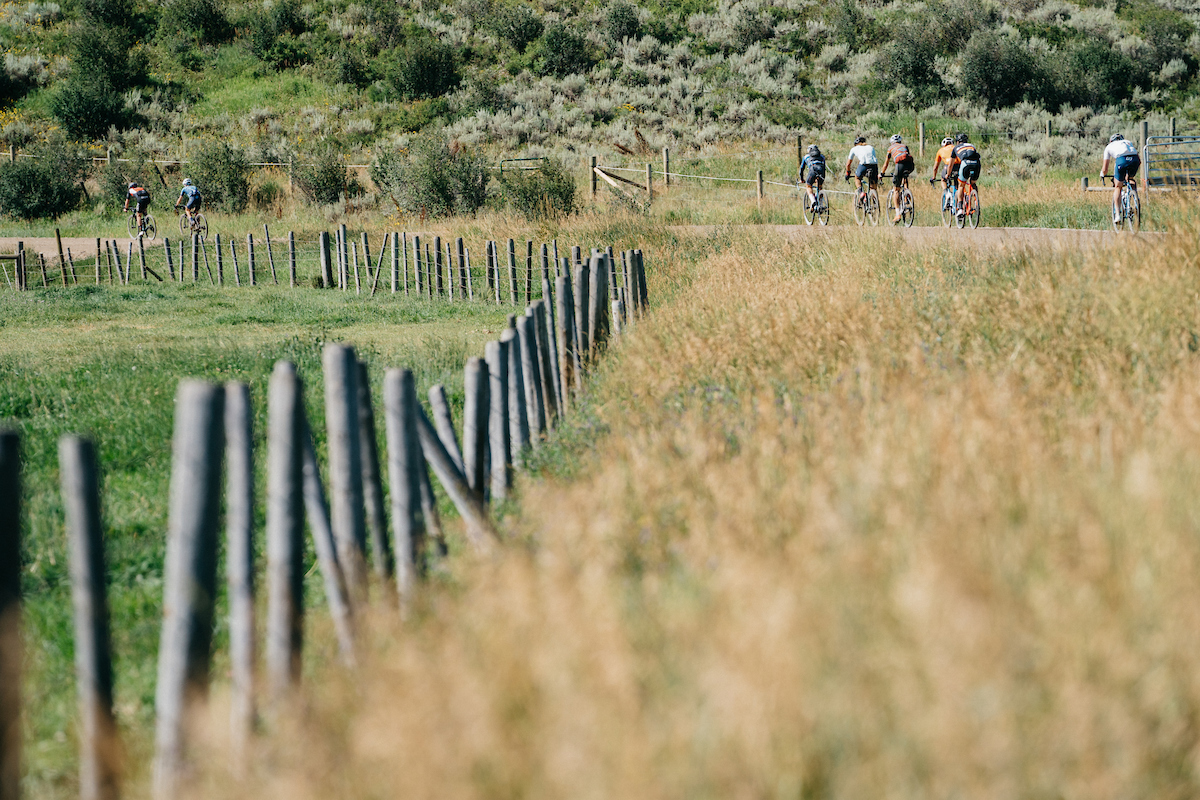 40 miles of road and fast rolling, wide gravel sections made pacelining a key factor for the race. PC: Dane Cronin
