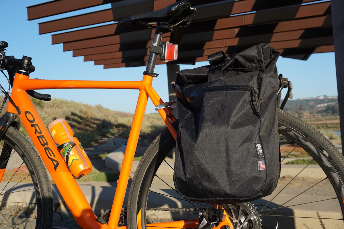 Addition gear included North St Panniers and lights from NiteRider