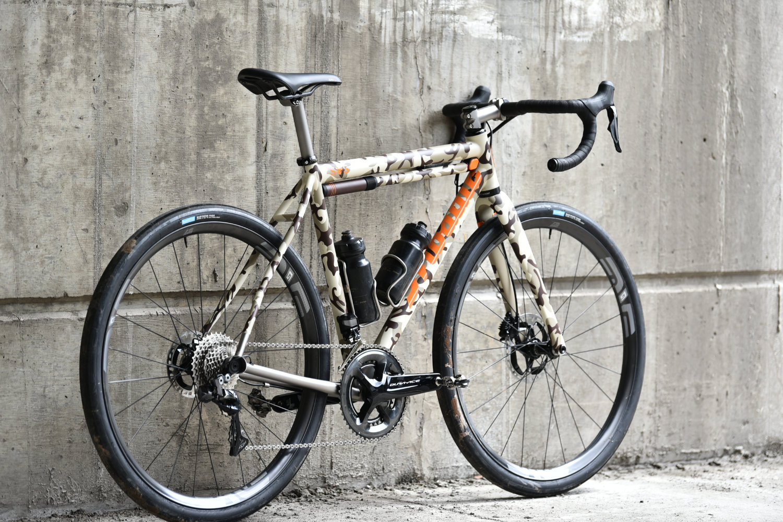 SAS X Mosaic Cycles Custom Gravel Bike