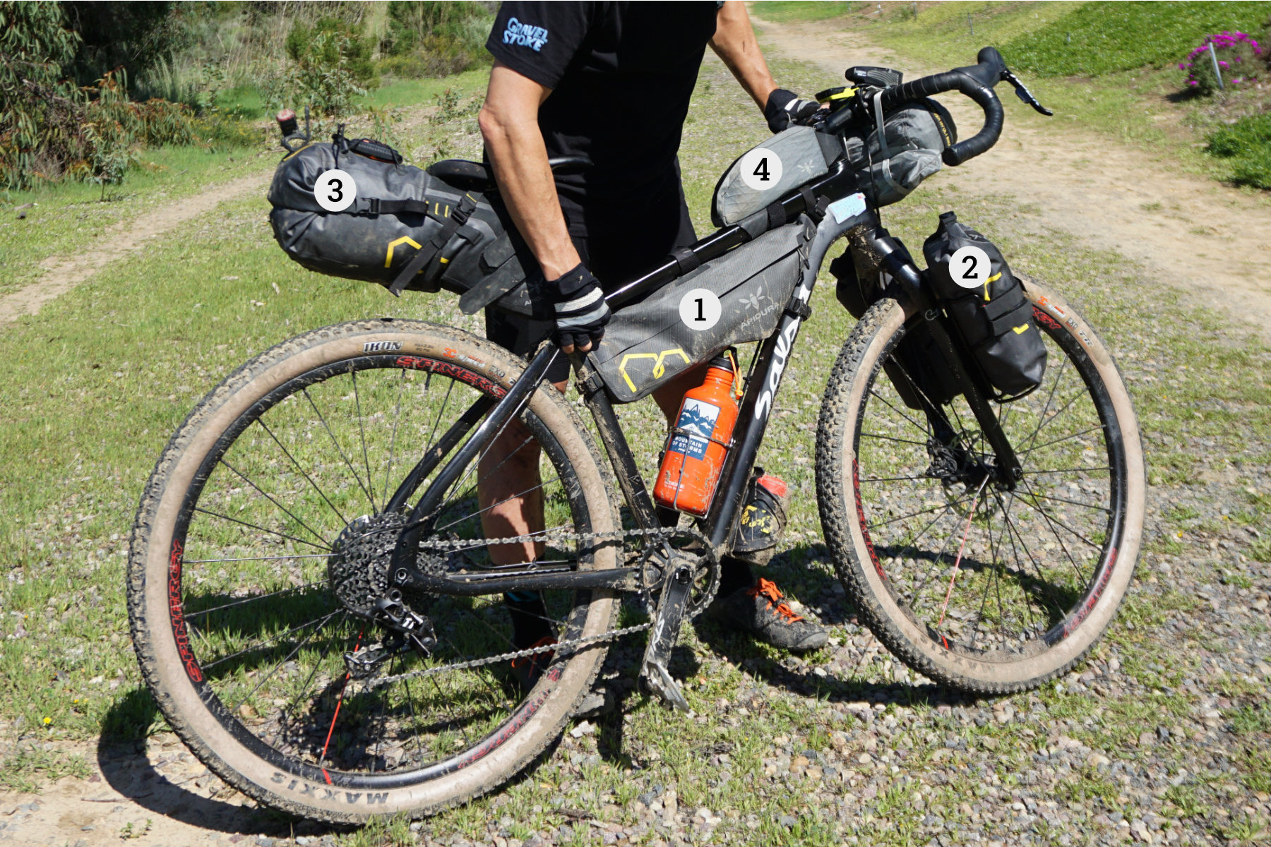 Apidura Expedition Series Bikepacking Gear Review