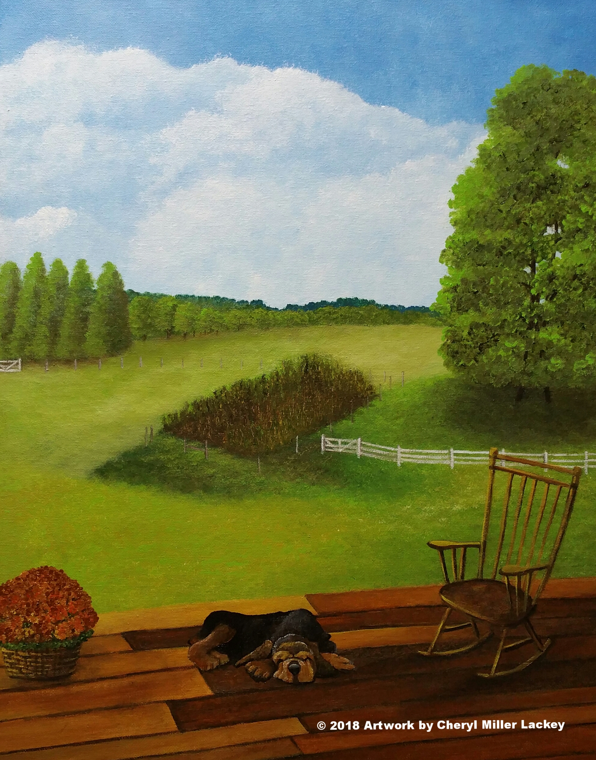 Lackey_View from the Back Porch_Acrylic 16 X 20.jpg