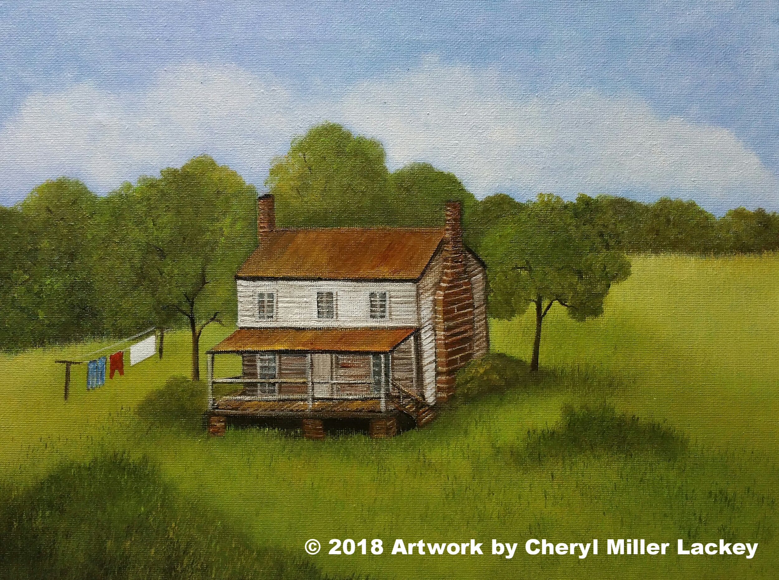 Lackey_Home Sweet Home_Acrylic 11 X 14.jpg
