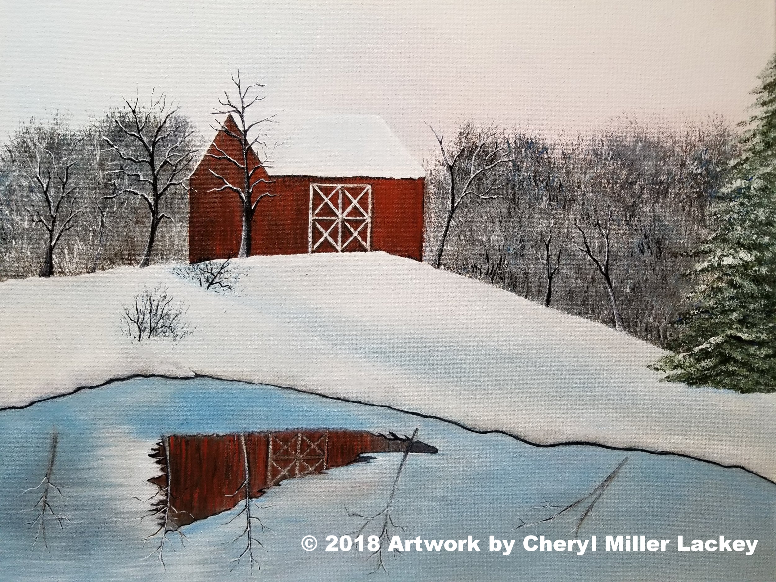 Lackey_Winter Reflections_Acrylic 16 X 20.jpg