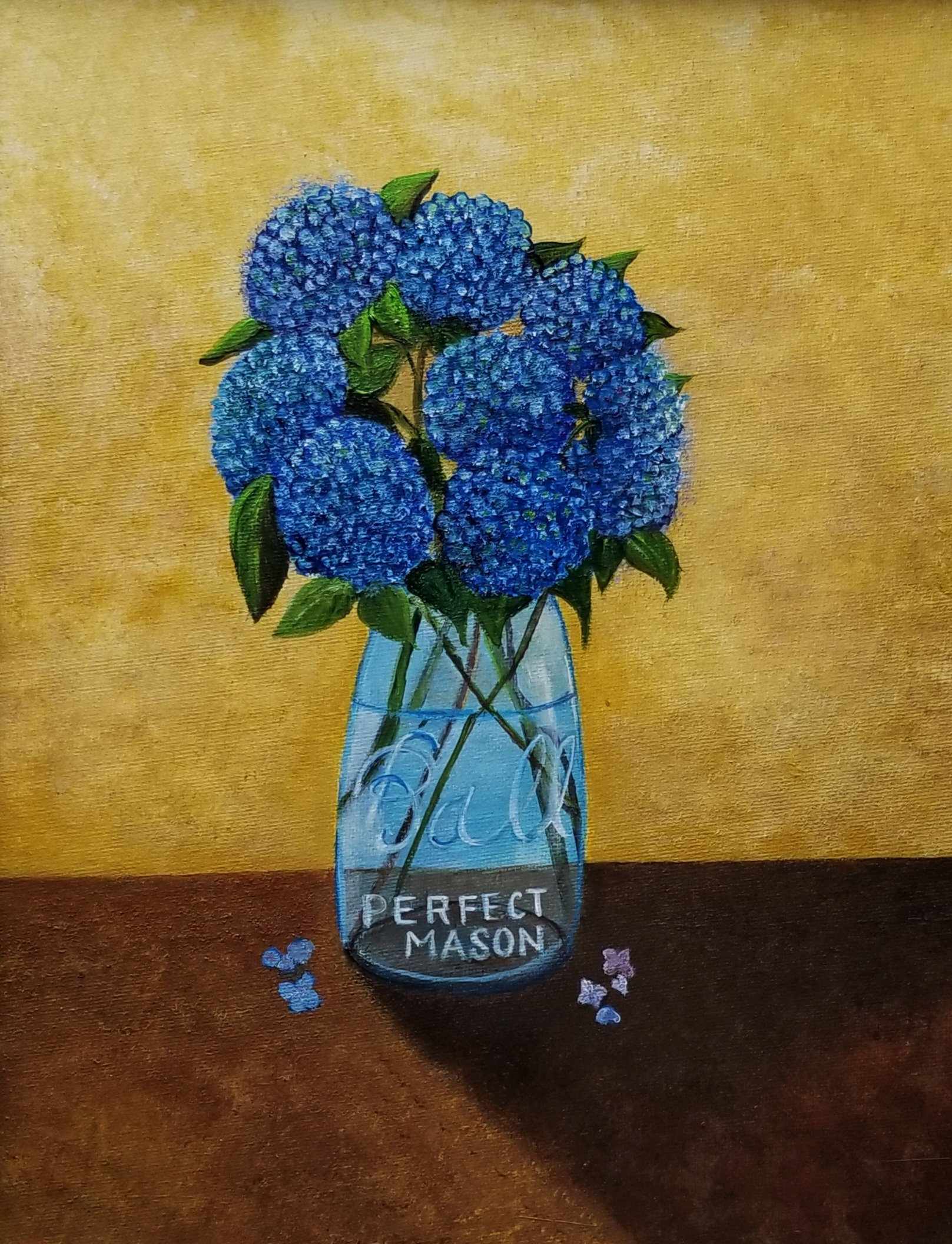 Lackey_Hydrangeas+in+a+Ball+Mason+Jar_Acrylic+11+X+14.jpg
