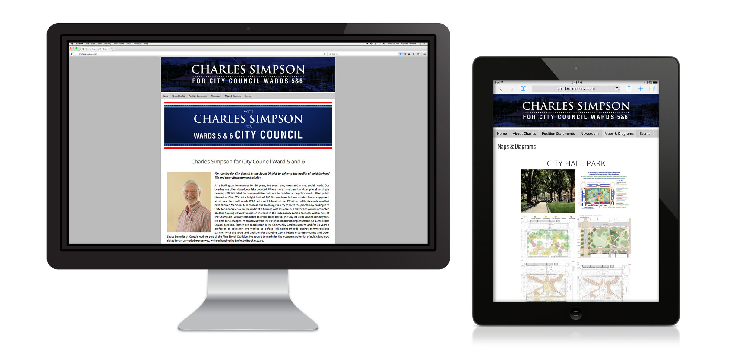Charles Simpson, VT 2018 Campaign