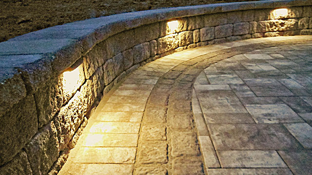 Low-Voltage Lighting - Ensure your house looks its best by day and by night. Accent your property's best features, illuminate pathways, driveways, decks, patios, and more.