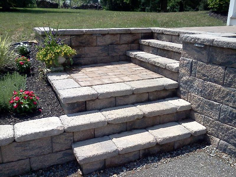 Stairs - Dry Laid