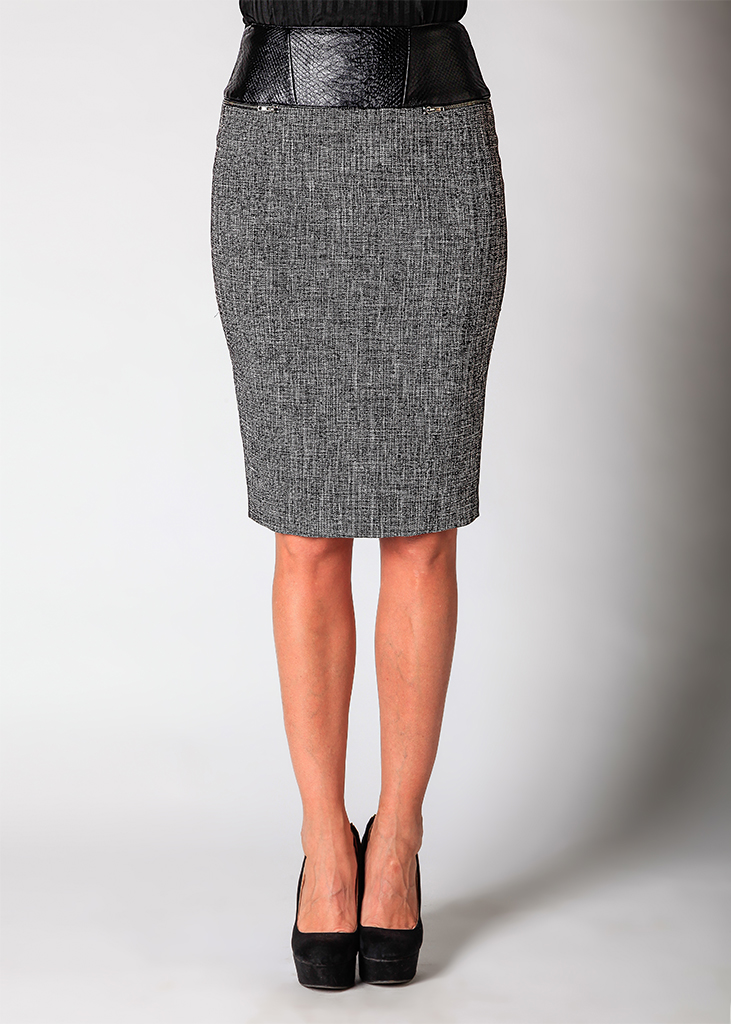 Pair it With - Tweed Pencil Skirt