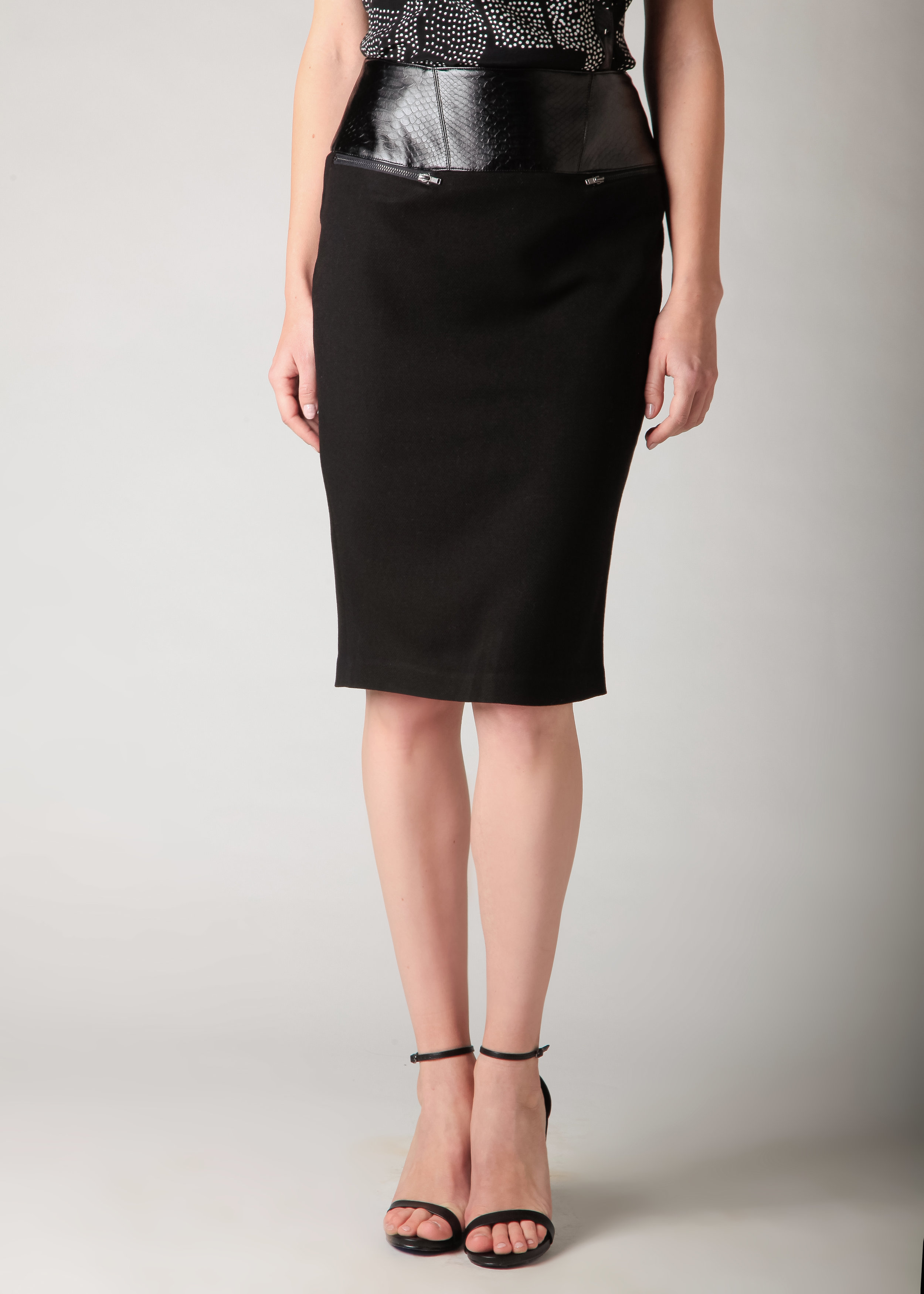 And With... - Elton Pencil Skirt