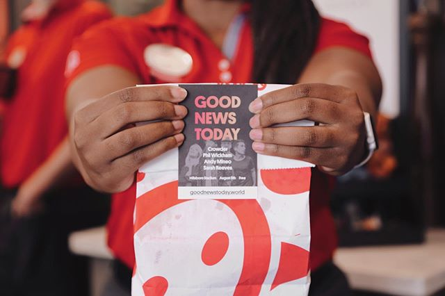 Have you seen our invite cards around the city?  We're proud to announce our partnership with Chick-fil-a again this year! Swing by @cfatanasbourne for some yummy chicken and to get some invite cards to @gnt_world