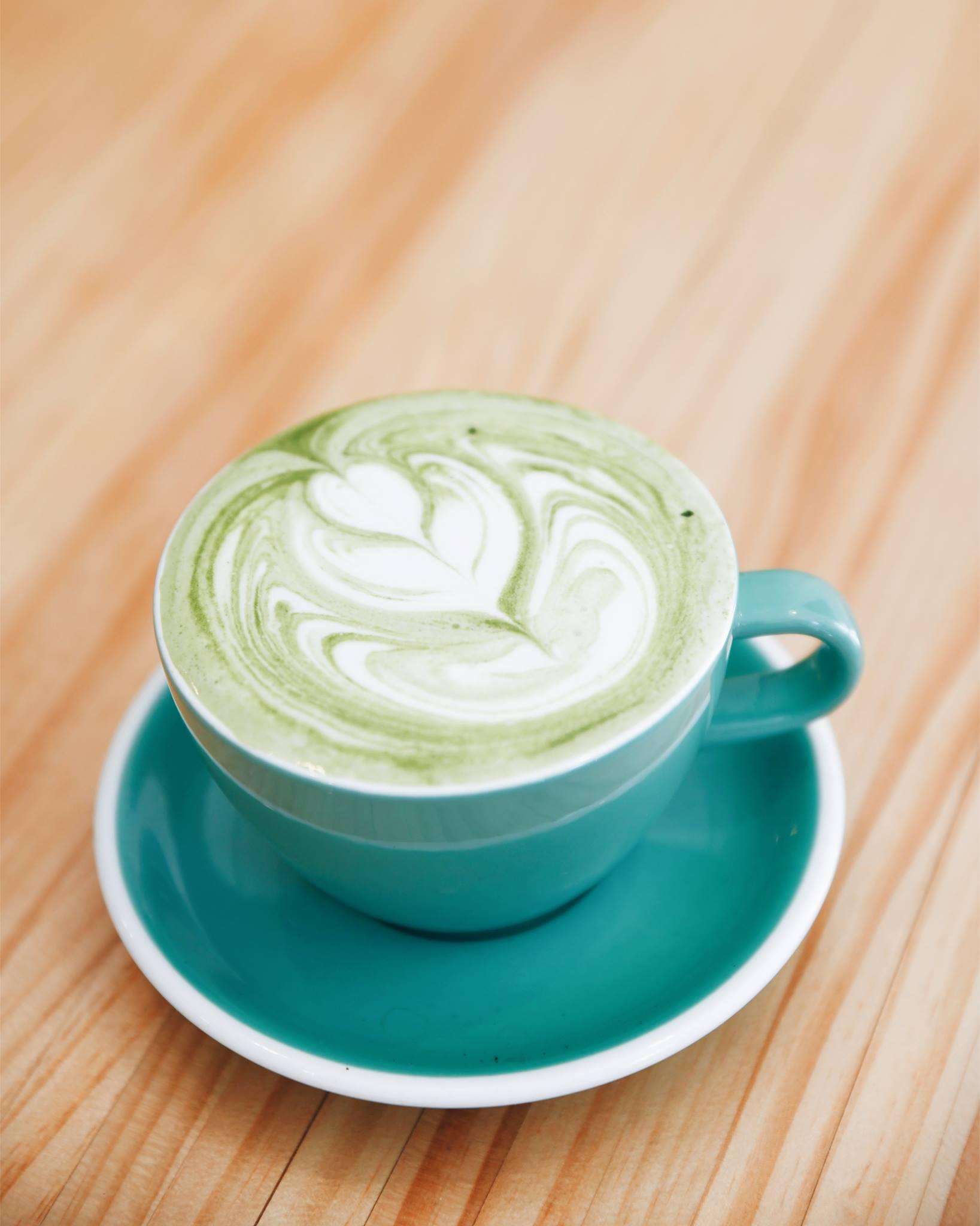 Vanilla Matcha Latte