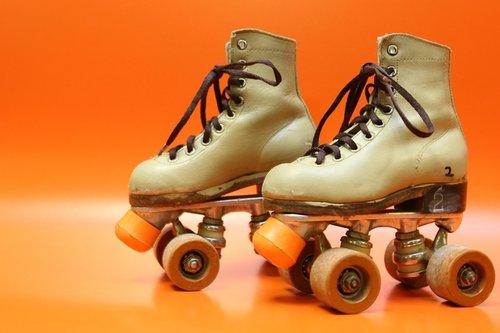 Old School Roller Skates