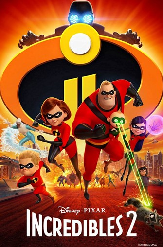 Aug 14th: Incredibles 2