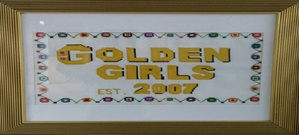 Golden Girls - The Golden Girls are a group of retired women who meet every Wednesday morning. The group formed eight yeasr ago, is well established and very well attended. The women take part in a variety of activities throughout the year including art, pottery, knitting crochet, chair exercises and day trips. The group was formed to ensure there is a place where older women can meet up for support and to prevent social isolation within our community.