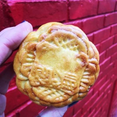 Traditional mooncake.