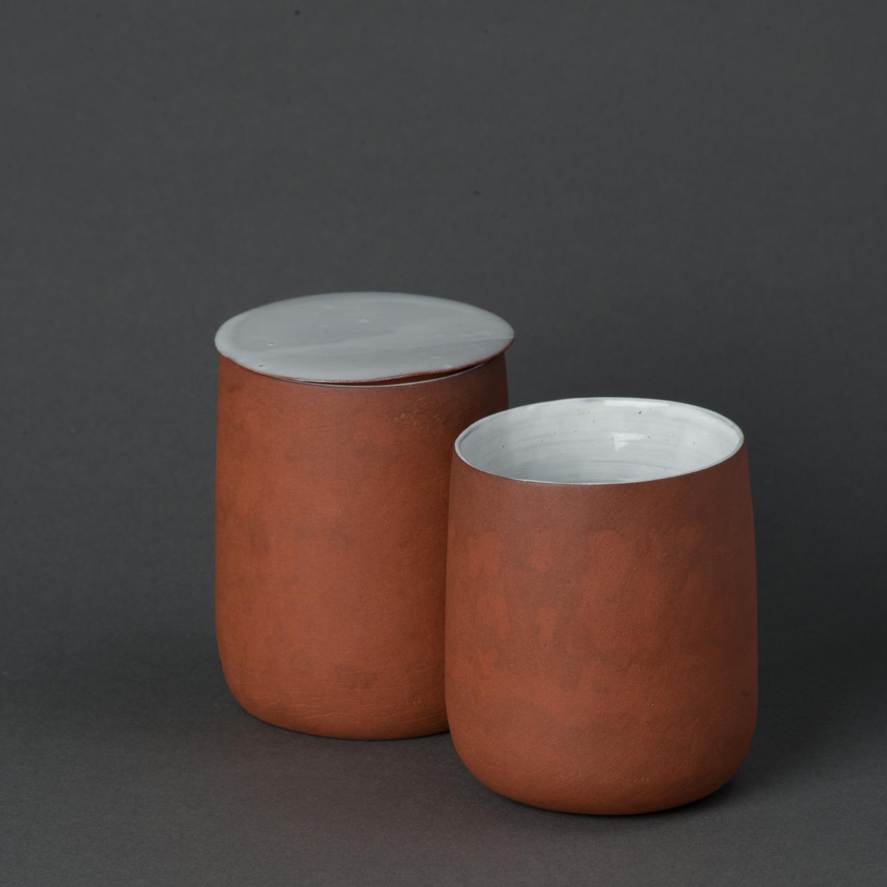 gobelets à double paroi et couvercle, 2016