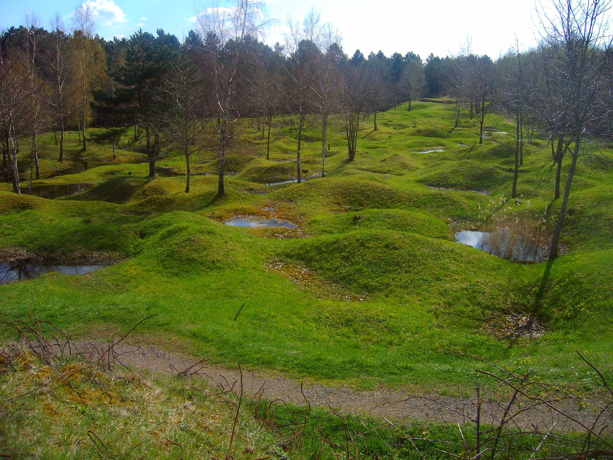 The Verdun battlefield today