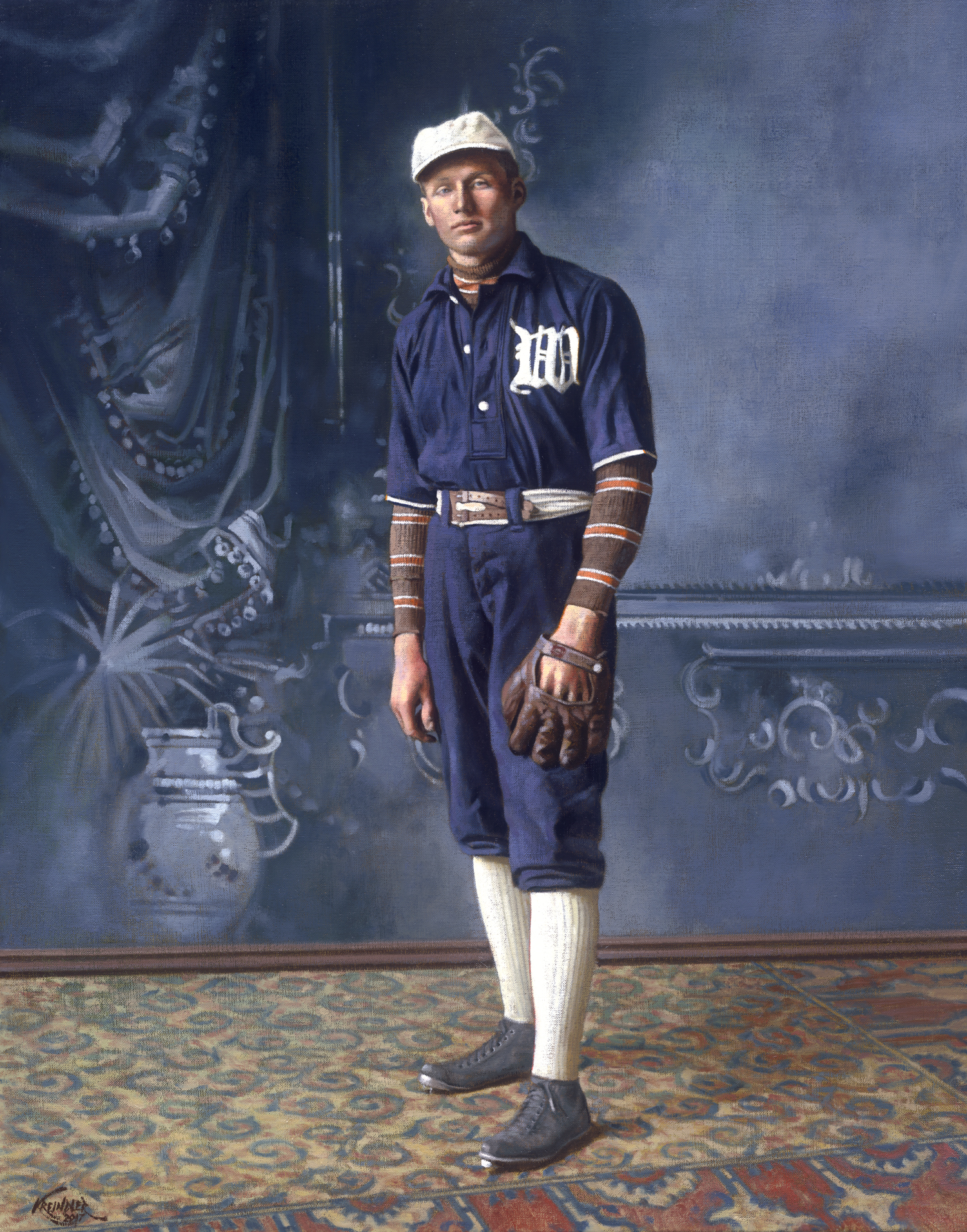 Walter Johnson, 1907