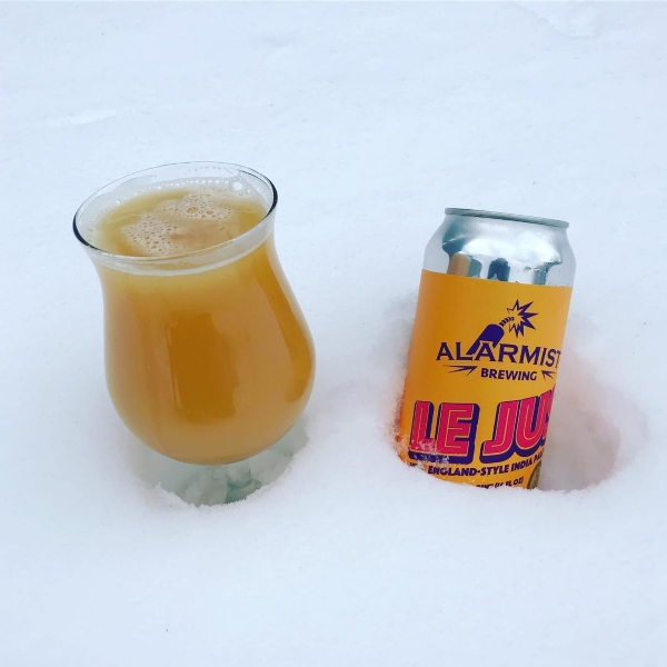 GABF Gold Medal award winning Le Jus by Alarmist Brewing | Image via Instagram