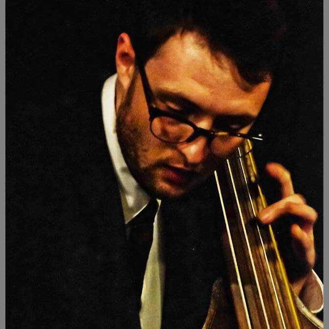MYLES SLONIKER ,  Bass   Myles Sloniker, bass, is active in NYC jazz scene and studied music at the New School and the University of Northern Colorado. He has toured internationally and is from Ft. Collins, CO.
