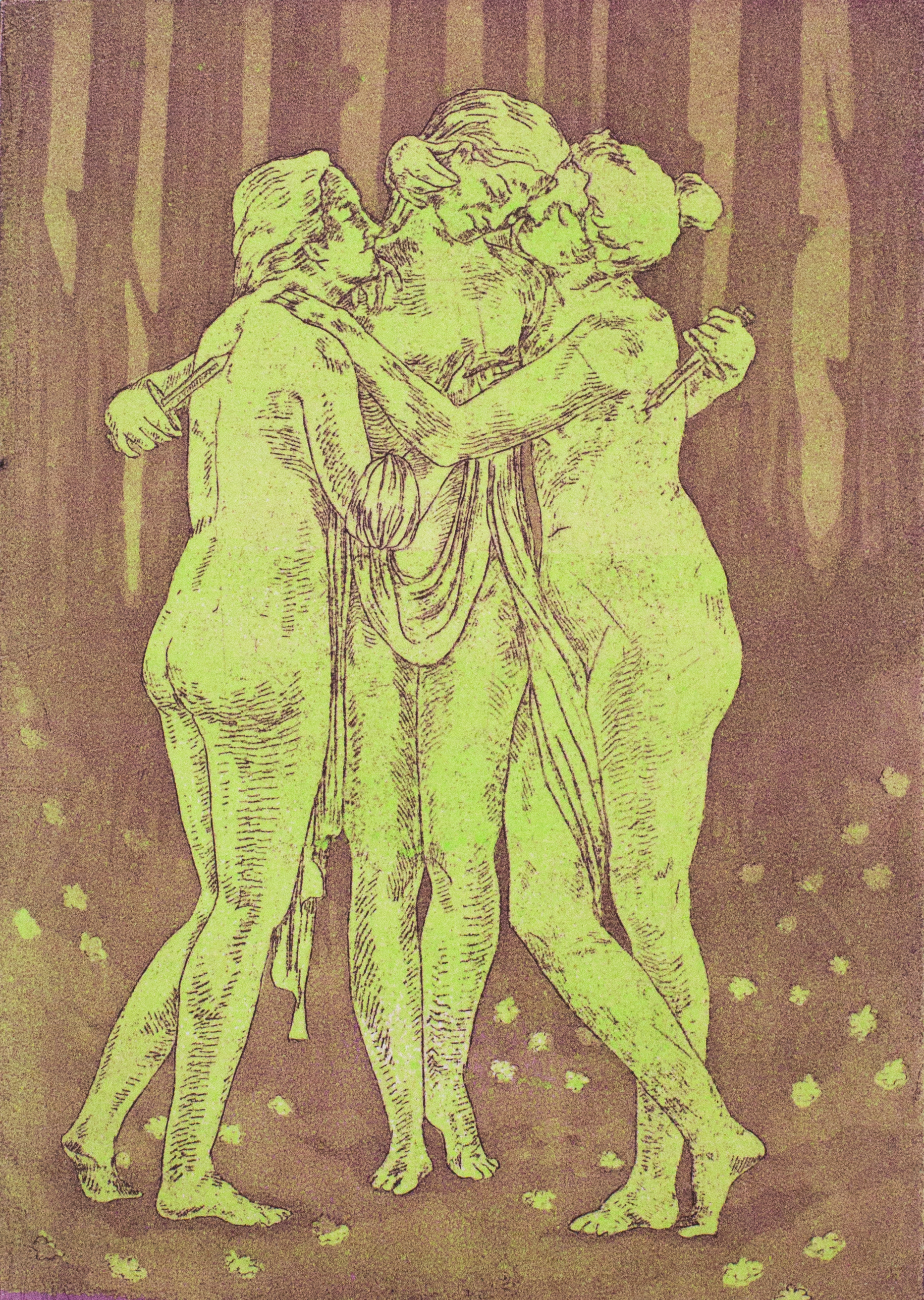 Three Graces with Knives