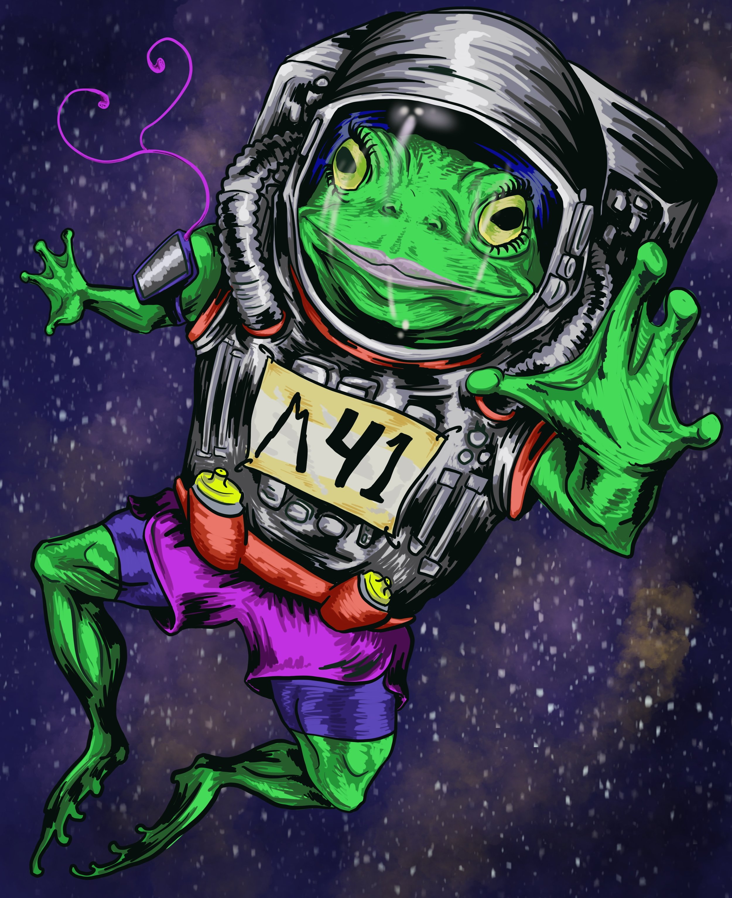 Space Frog