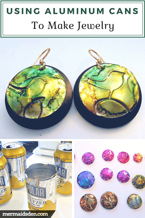 Using Aluminum Cans to Make Jewelry
