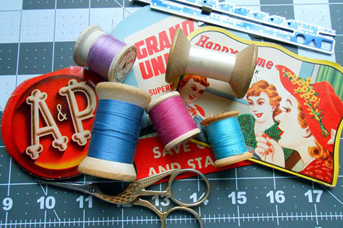 Sewing Tips: Can I Use Vintage Thread?