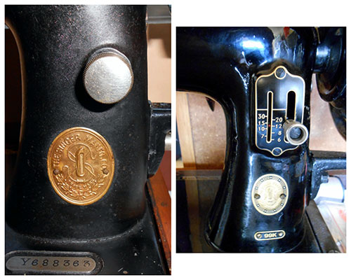 Vintage 99k Singer Sewing Machine from 1922: Cleaning, Restoring, & Adding a Hand Crank
