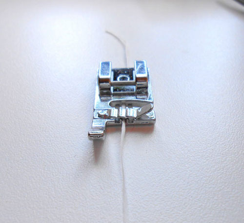 An Easier Method of Gathering with Dental Floss
