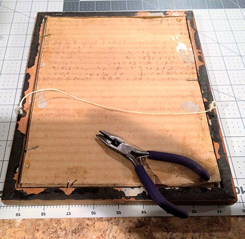 Turn a Picture Frame into a Tray