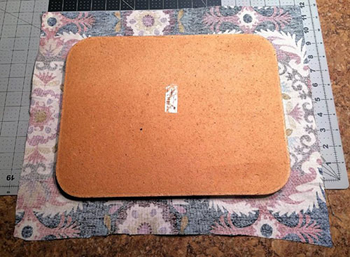 How to Cover a Cork Bulletin Board with Fabric