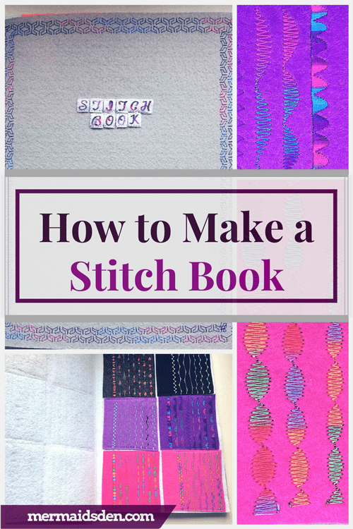 How to Make a Stitch Sample Book for Your Sewing Machine