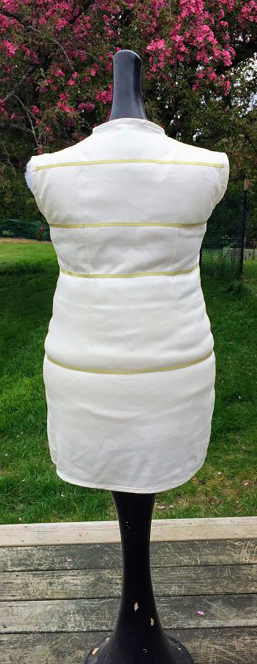 Make a Custom Dress Form by Padding a Mannequin