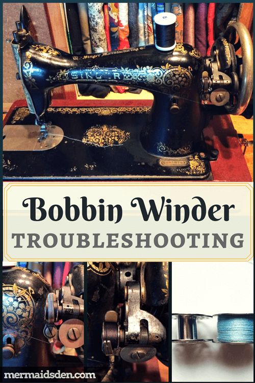 Troubleshoot and Repair Bobbin Winder Problems on a Singer 15