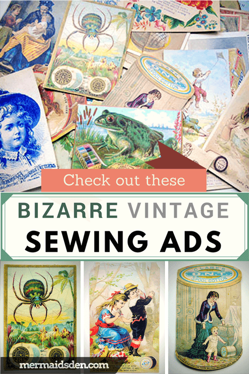 Bizarre Vintage Sewing Ads: What Were They Thinking?