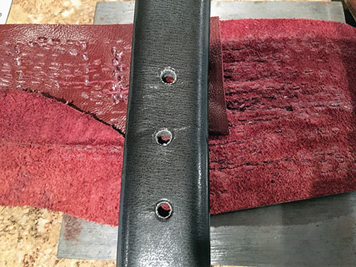 How to Add Extra Belt Holes to a Leather Belt