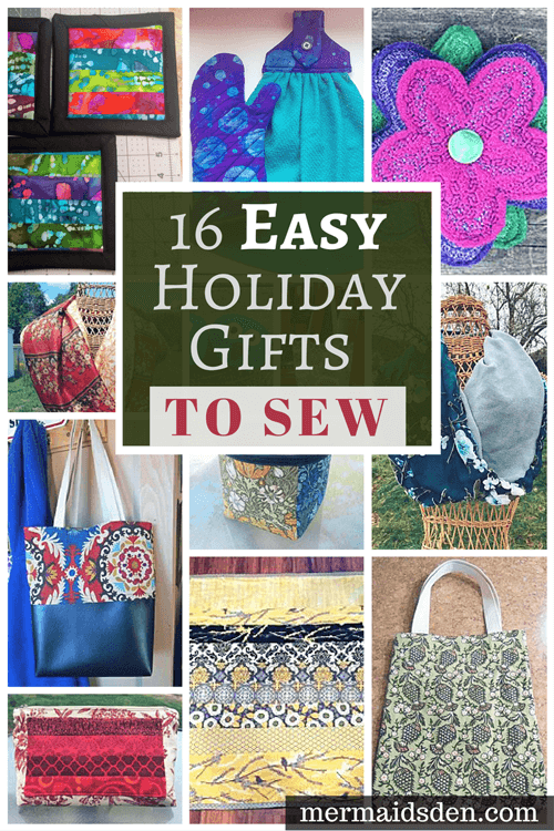 16 Easy Holiday Gifts to Sew