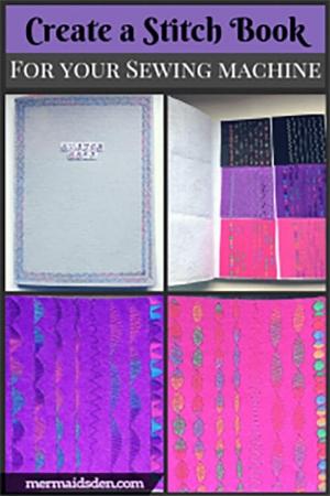 Make a stitch sample book